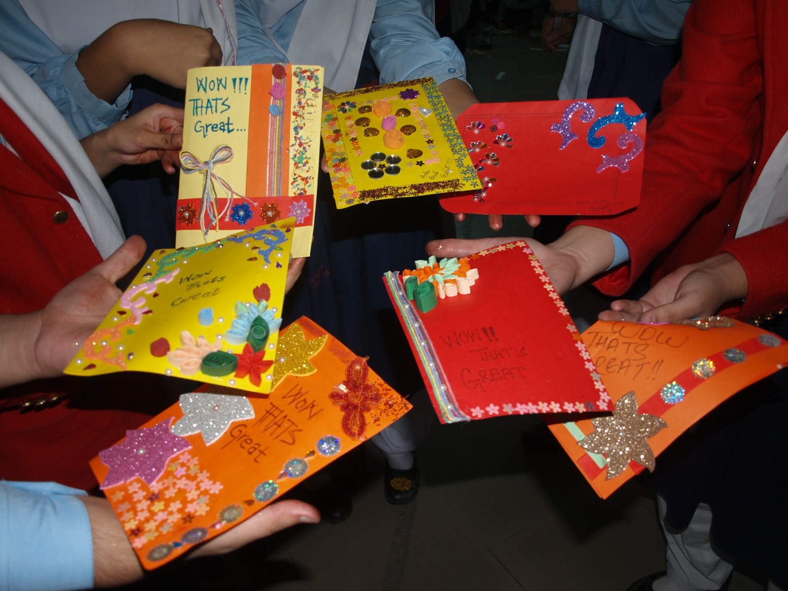 Card Making Competition - Girls College [16/11/2015]