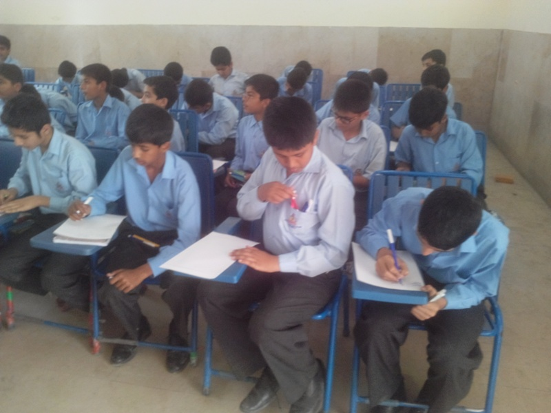 Hand Writing Competition Boys School 11 May, 2015