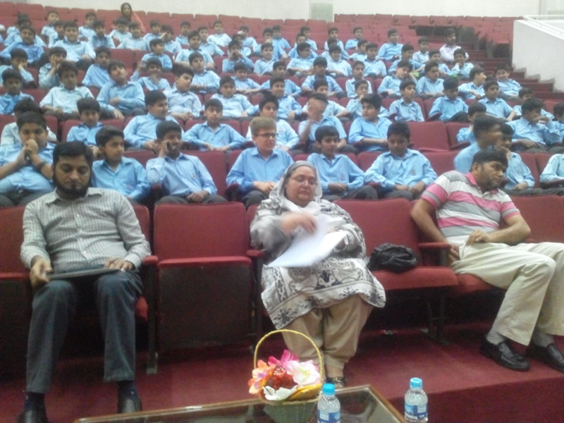 Urdu Speech Competition Class 6 - 02 May, 2015